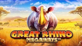 เกมสล็อต Great Rhino Megaways จากค่าย Pragmatic Play
