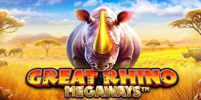 เกมสล็อตออนไลน์ Great Rhino